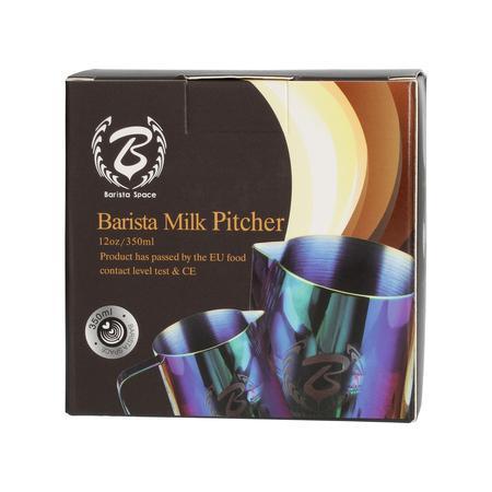 Barista Space - Dzbanek do mleka niebieski / kolorowy 350 ml