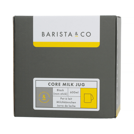 Barista & Co - Core Milk Jug Black - Dzbanek do mleka 600 ml