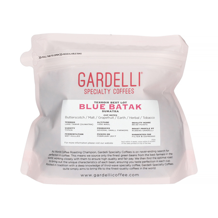 Gardelli Specialty Coffees - Indonesia Sumatra Blue Batak