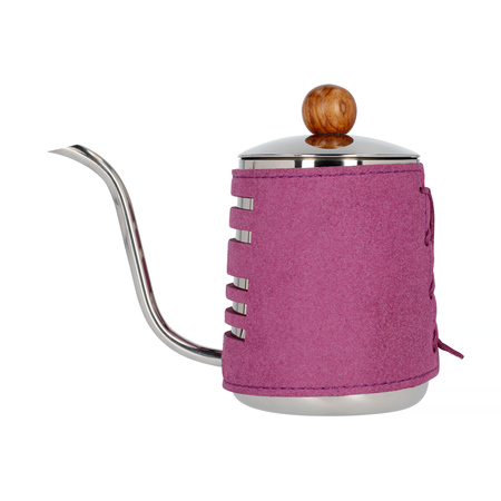 Barista Space - Czajnik w fioletowej osłonce 550 ml