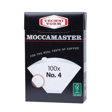 Moccamaster filtry papierowe nr 4