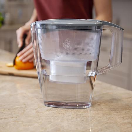 Dafi - Dzbanek filtrujący Mila 3l + 1 filtr Unimax - Stalowy