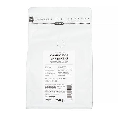 Hard Beans x Coffeedesk - Brazylia Campo das Vertentes Espresso 250g