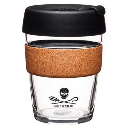 KeepCup Brew Cork Sea Shepherd 340ml