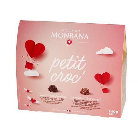 Monbana - Walentynkowe Czekoladki Petit Croc 240g