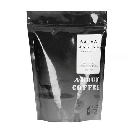 Audun Coffee - Peru Salva Andina Espresso 250g