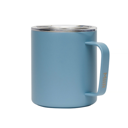 MiiR Camp Cup - kubek kempingowy szaroniebieski 12oz / 0,35l (outlet)