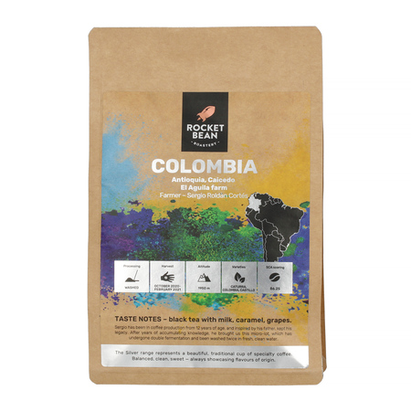 Rocket Bean - Colombia Antioquia El Aguila Filter 200g