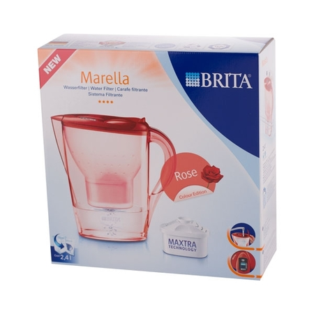 Brita Marella - dzbanek róża - czerwony 2,4l