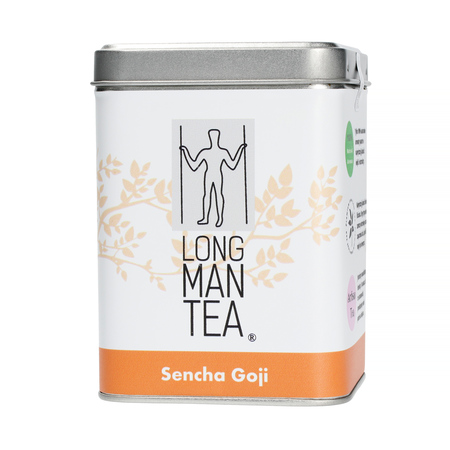 Long Man Tea - Sencha Goji - Herbata sypana - Puszka 120g