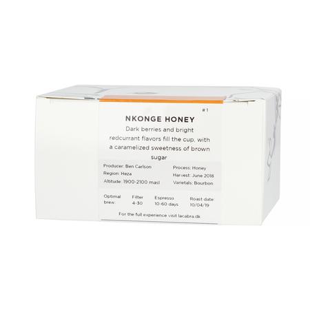 La Cabra - Burundi Heza Nkonge Honey