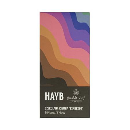 HAYB x Manufaktura Czekolady - Czekolada deserowa - Espresso - 50g