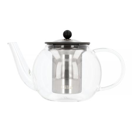 Cilia Tea Press - Dzbanek z tłokowym zaparzaczem do herbaty - 1 litr