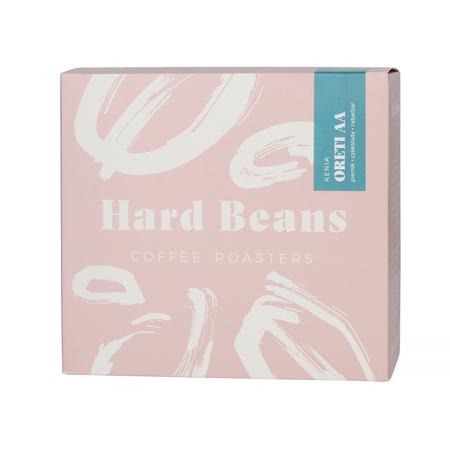 Hard Beans Kenia Thika Oreti AA Washed FIL 250g, kawa ziarnista (outlet)