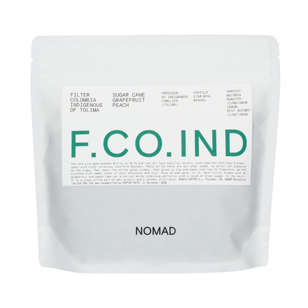 Nomad Coffee - Colombia Indigenas del Tolima