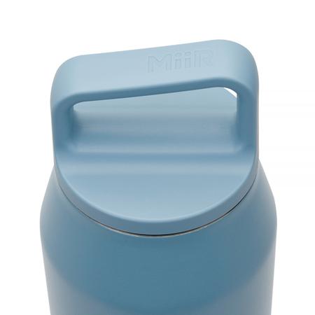 MiiR - Wide Mouth Bottle Szaroniebieska - Butelka termiczna 950 ml