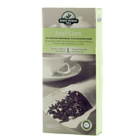Saszetki do herbaty Mount Everest Tea L - Duże