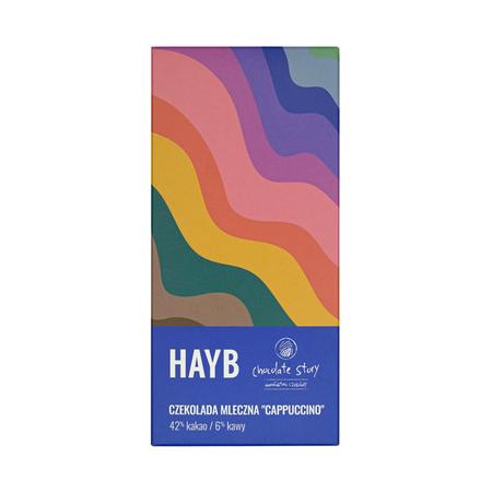 HAYB x Manufaktura Czekolady - Czekolada mleczna - Cappuccino - 50g
