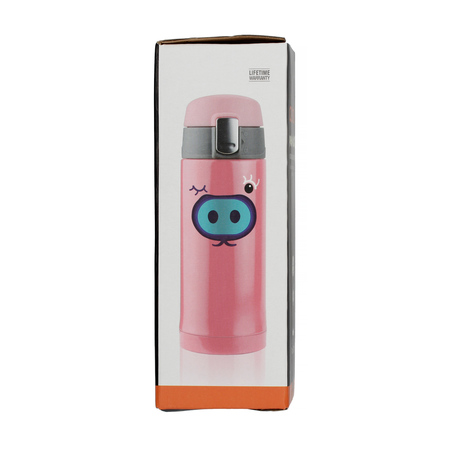 Asobu Peek-a-Boo Kids Bottle 200 ml Pink (outlet)