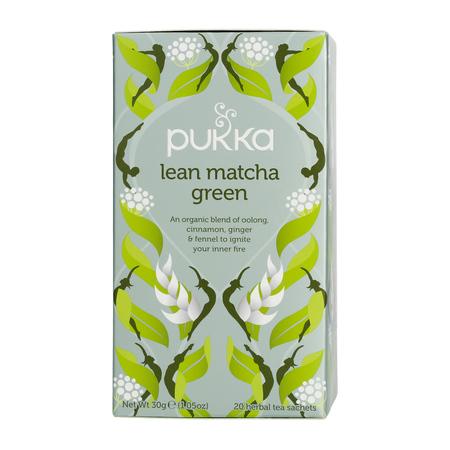 Pukka - Lean Matcha Green BIO - Herbata 20 saszetek