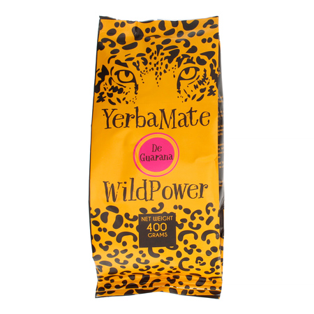 WildPower Mate de Guarana - yerba mate 400g