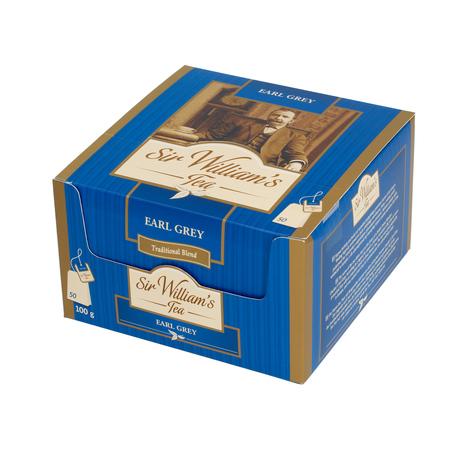 Sir William's - Earl Grey - Herbata 50 saszetek