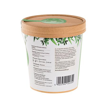 Brown House & Tea - Vietnam Tea Zielona - Herbata sypana 60g