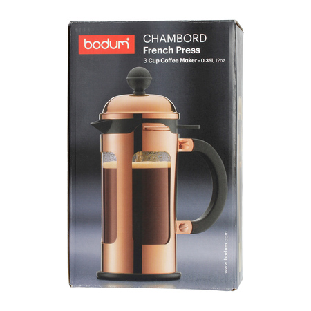 Bodum Chambord French Press 3 cup - 350 ml Błyszczący