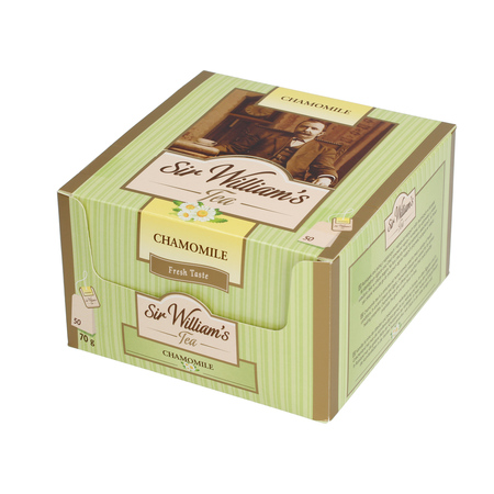 Sir William's - Chamomile - Herbata 50 saszetek