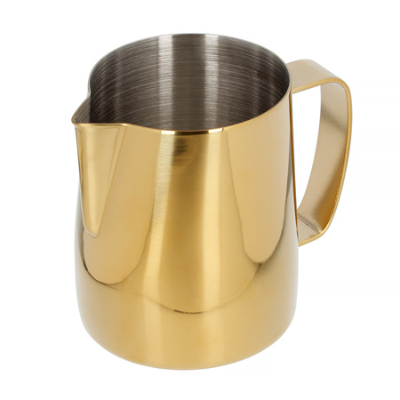Barista Space - Dzbanek do mleka złoty 350 ml