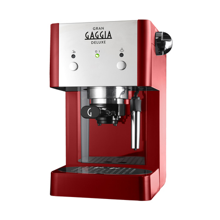 Gran Gaggia - Deluxe Red - Ekspres ciśnieniowy