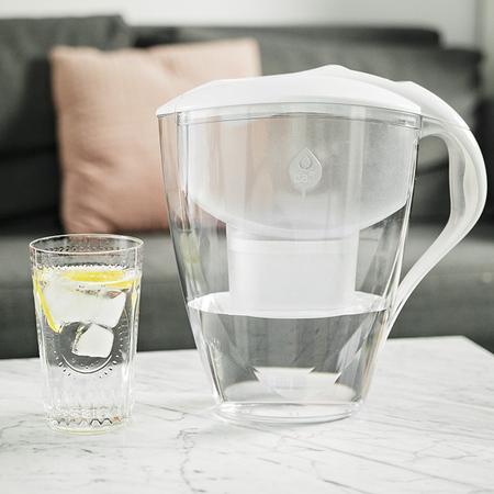 Dafi - Dzbanek filtrujący Astra 3l + 1 filtr Unimax - Biały