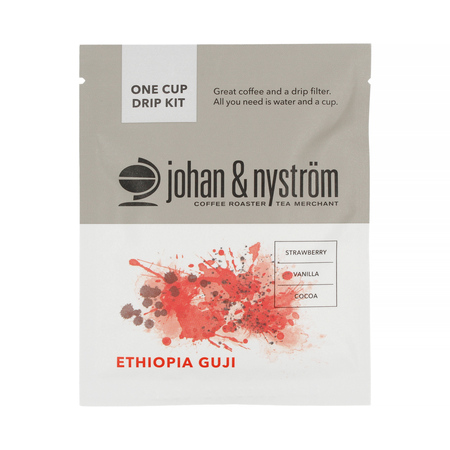 Johan & Nyström - Ethiopia Guji Drip Kit - 8 saszetek