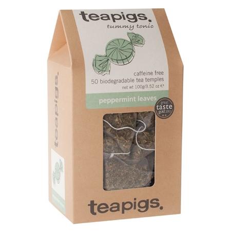 teapigs Peppermint Leaves 50 piramidek (outlet)