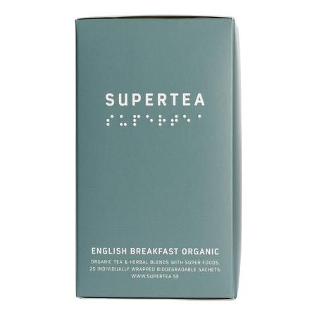 Supertea English Breakfast Organic (20 saszetek) (outlet)
