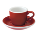 Loveramics Egg - Filiżanka i spodek Espresso 80 ml - Red