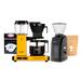 Zestaw Ekspres Moccamaster KBG 741 Select Yellow Pepper + Młynek Baratza + Kawa i filtry